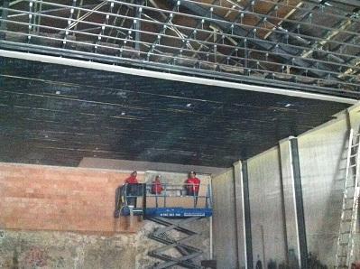 Ejecución de techo de insonorización Cordoba