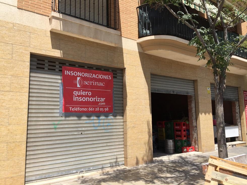 Insonorización pub Alicante