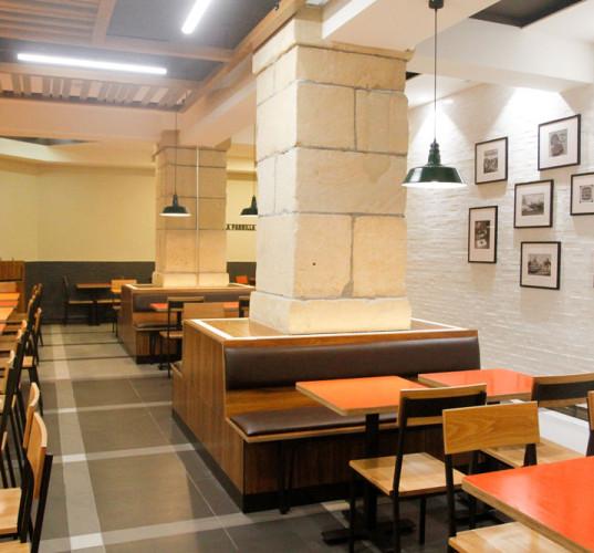 Insonorización restaurante Burger King