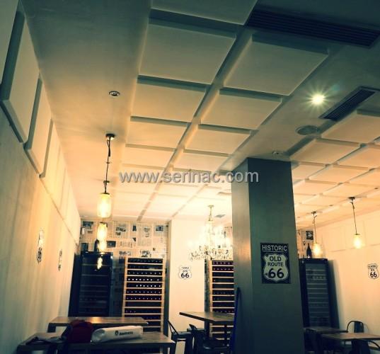 Tratamiento acústico restaurante