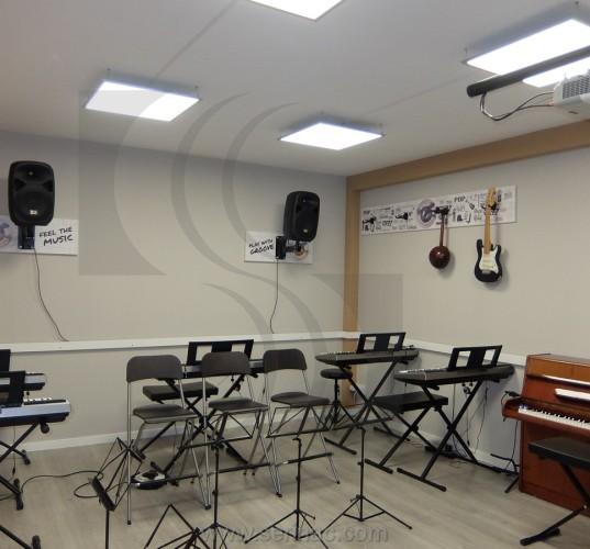 Insonorización escuela de música
