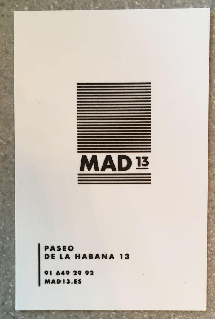 Restaurante Mad 13