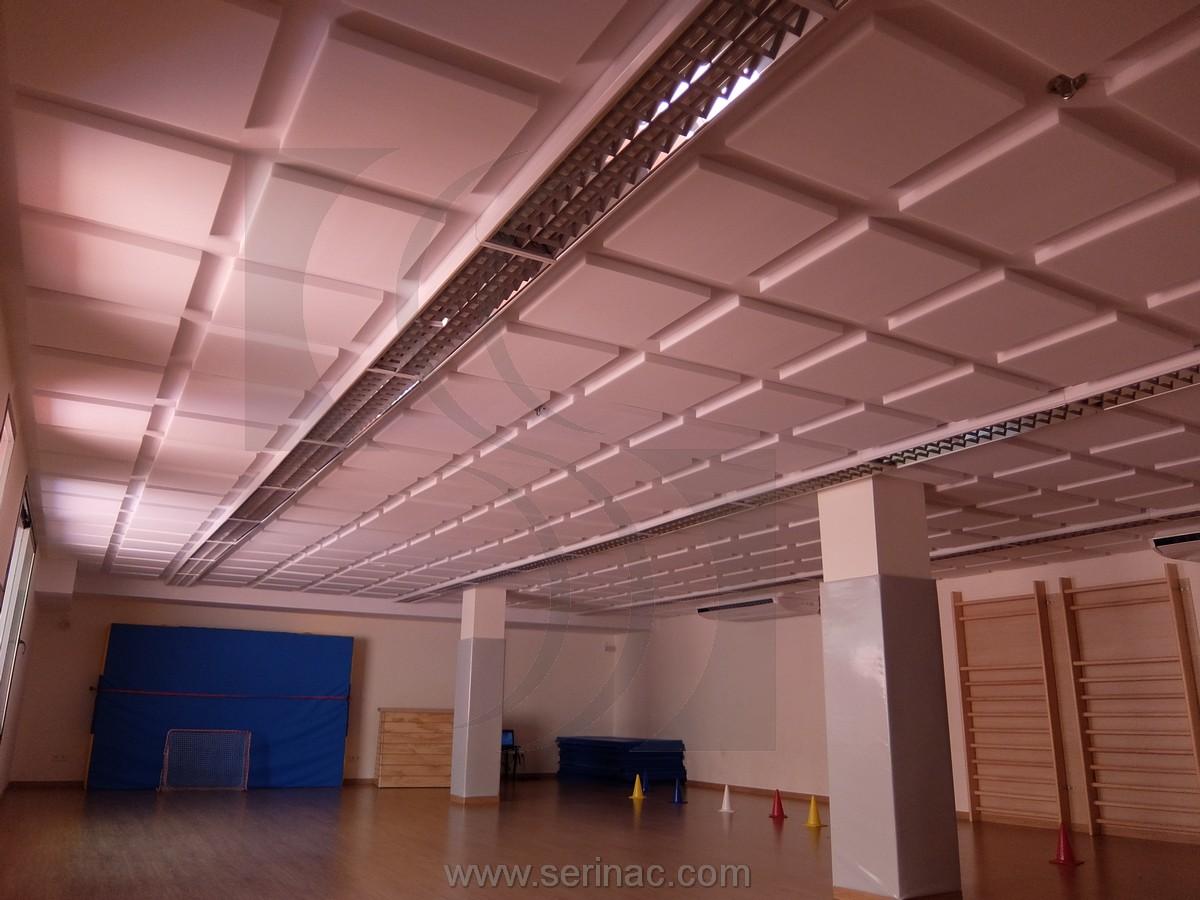 materiales acústicos gimnasio