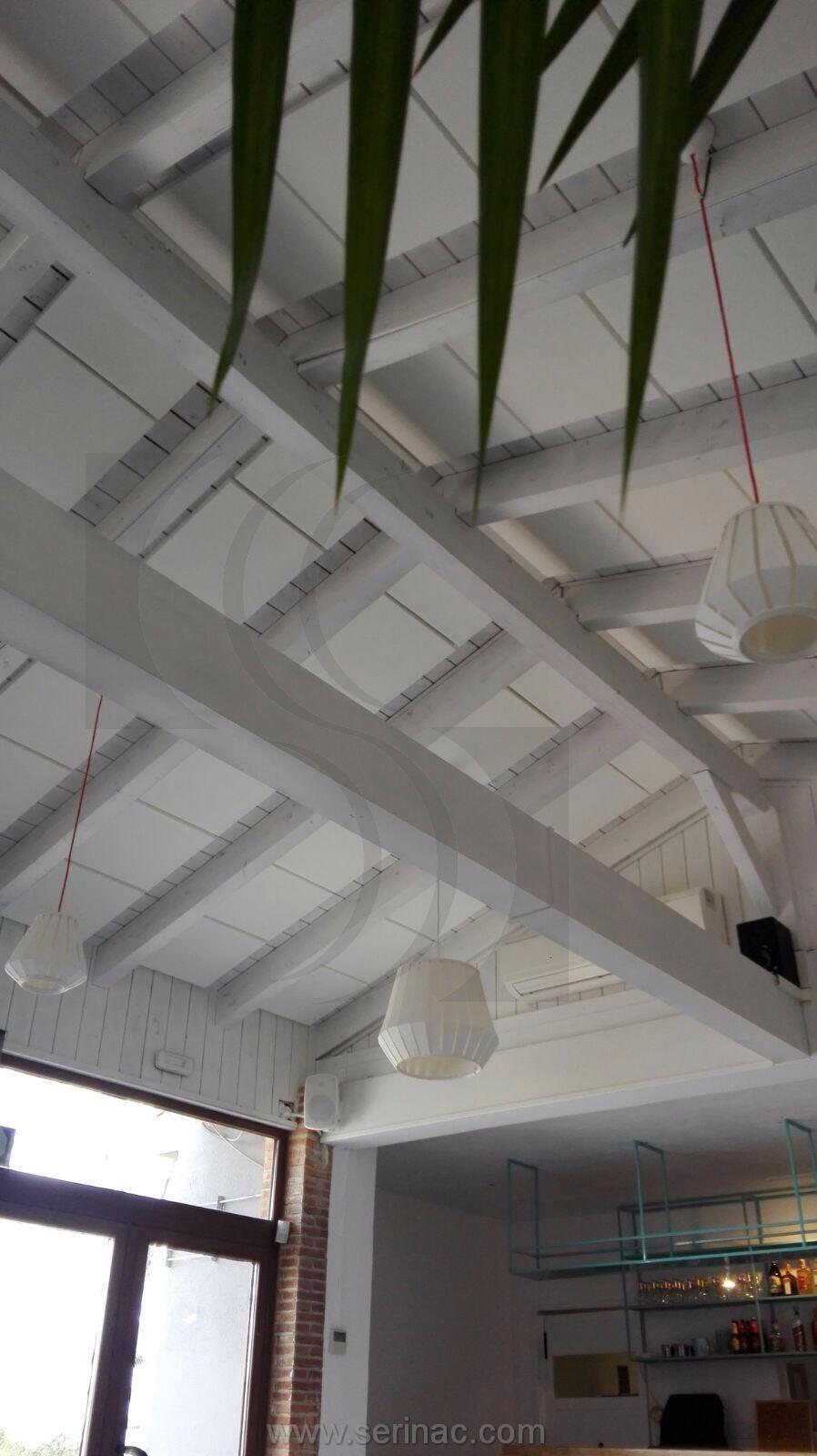 Paneles acústicos techo