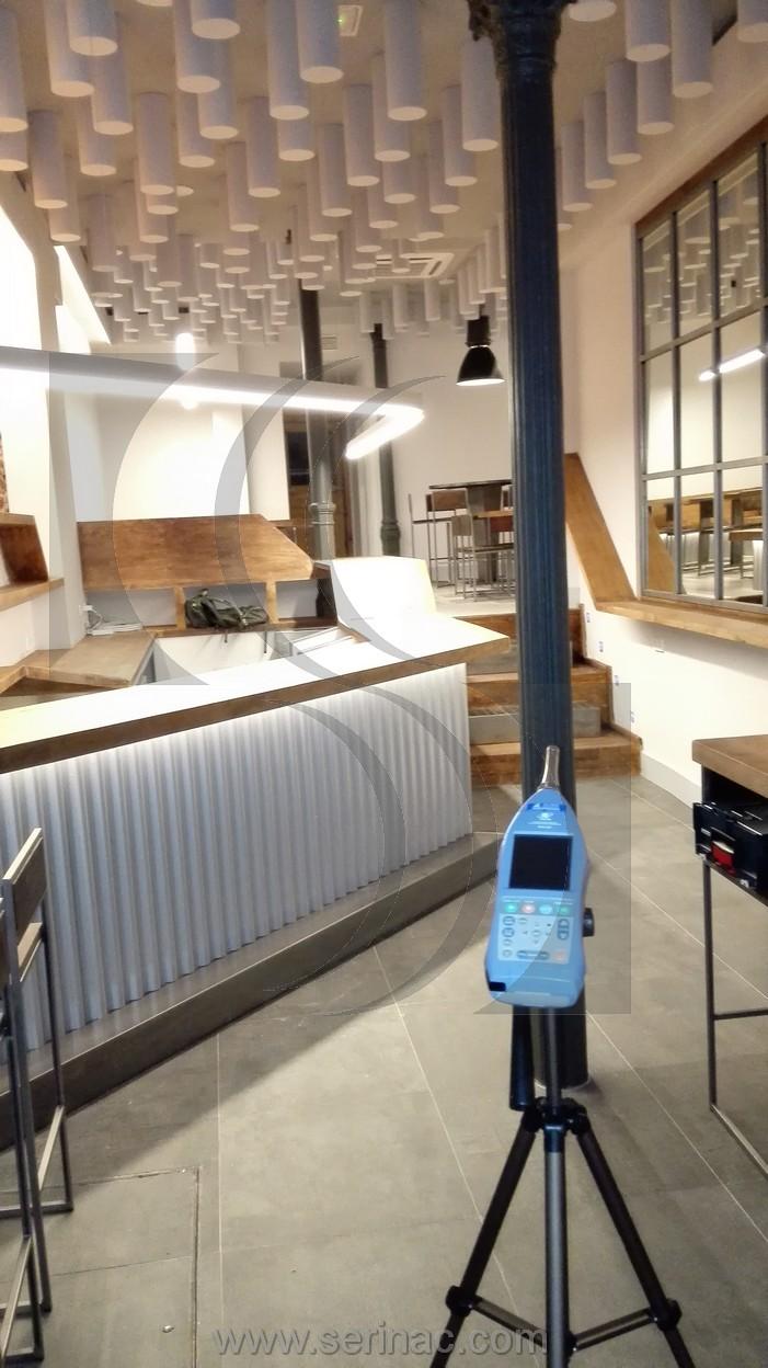 Auditoría acústica restaurante