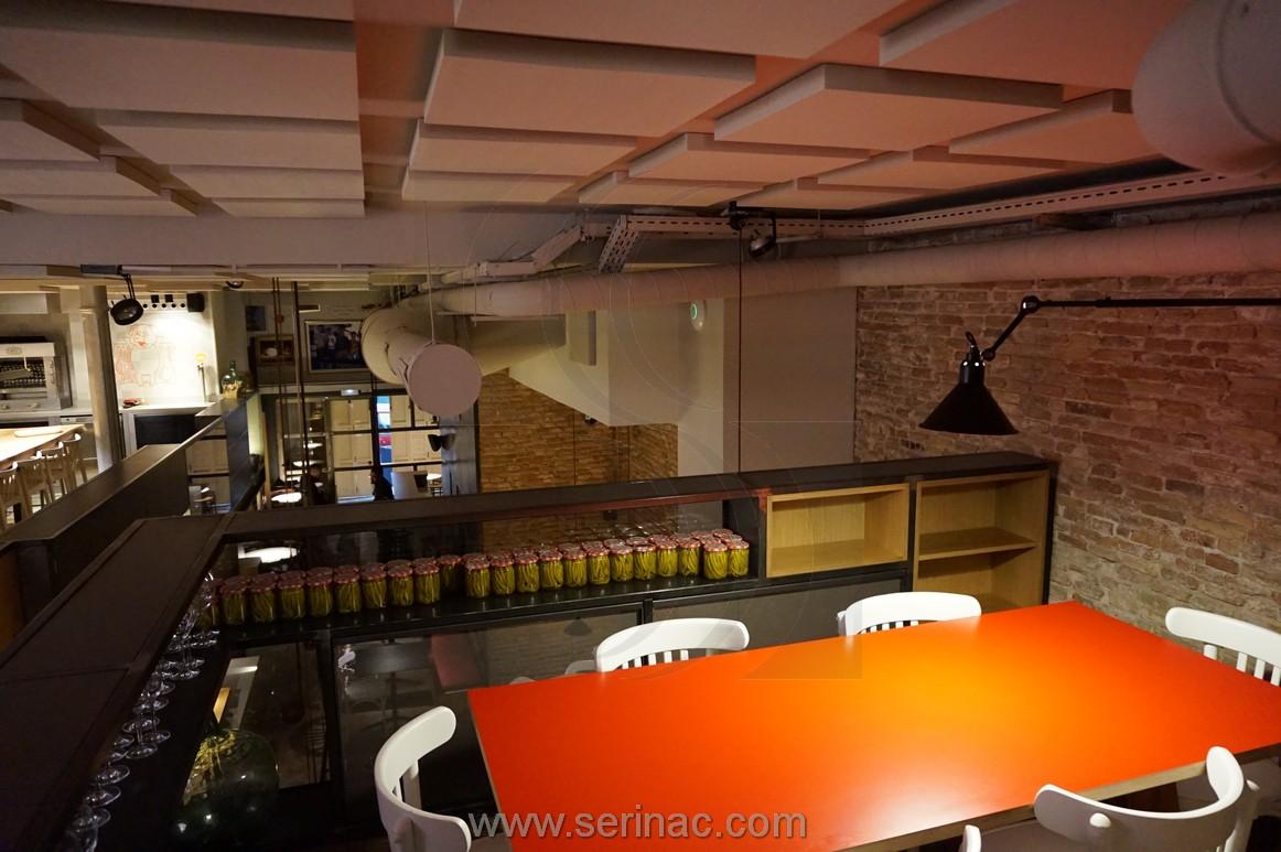 Mejora acústica restaurante