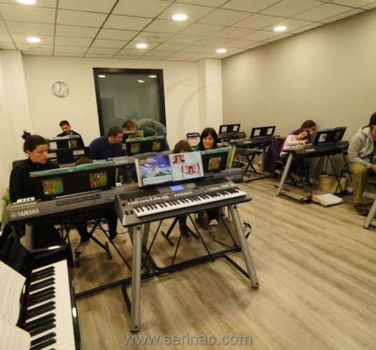 paneles acusticos escuela de música