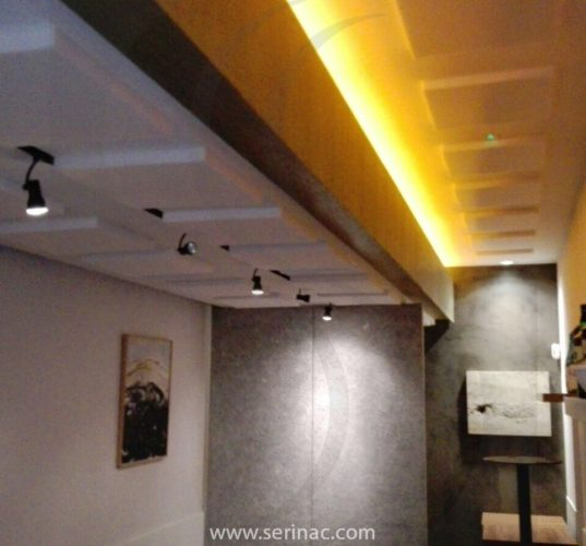 restaurante japones serinac paneles acústicos